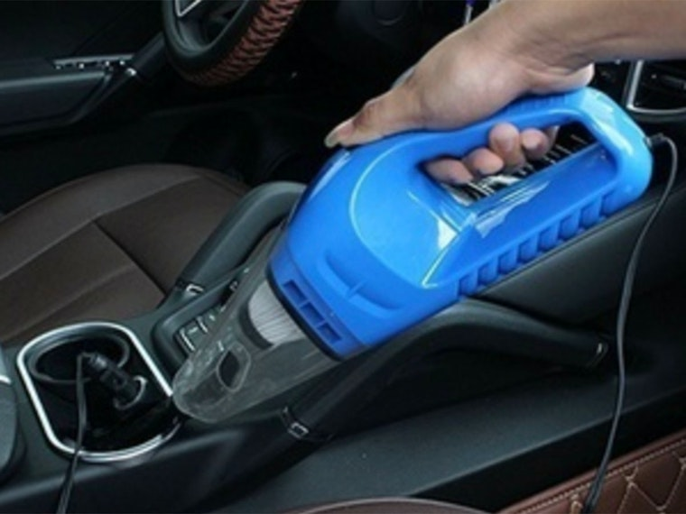 This hand-held vacuum to keep your car nice and clean