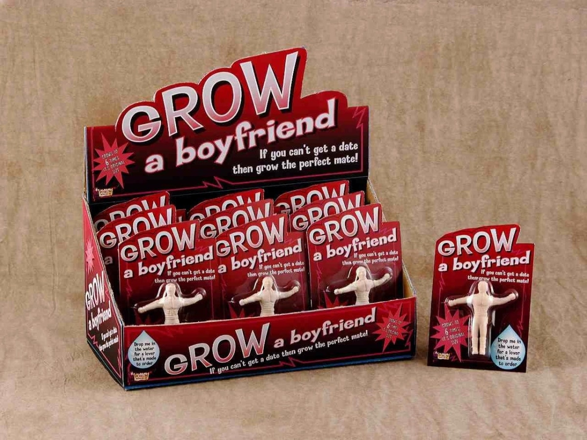 This grow-a-boyfriend toy for when your realone lets you down