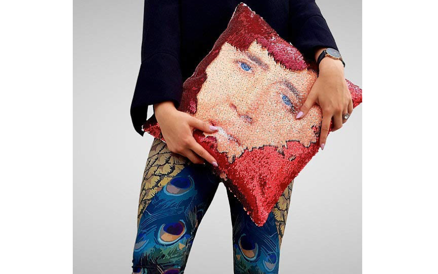 This pillow for ... those with a particular taste