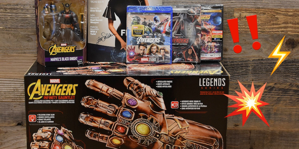 We're Giving Away a MARVELous Superhero Prize Pack! All These Movies Plus the Gauntlet