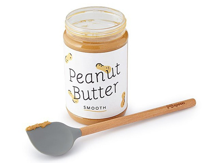 The perfect spoon for a peanut butter lover