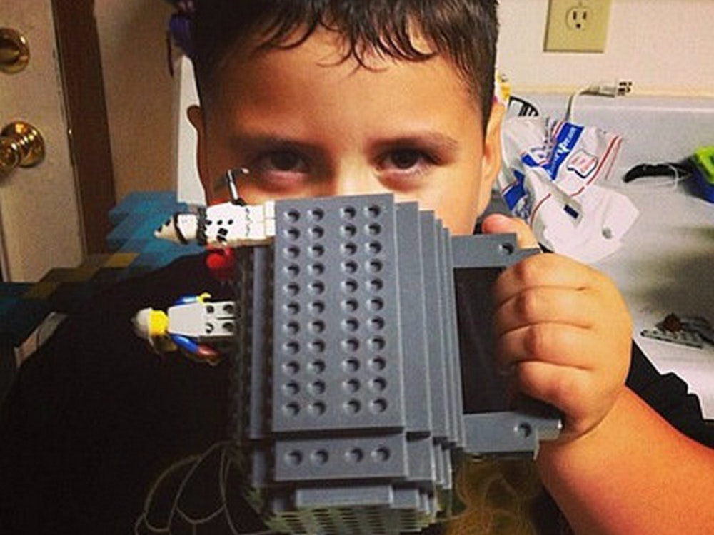 This Lego mug to warm your inner child