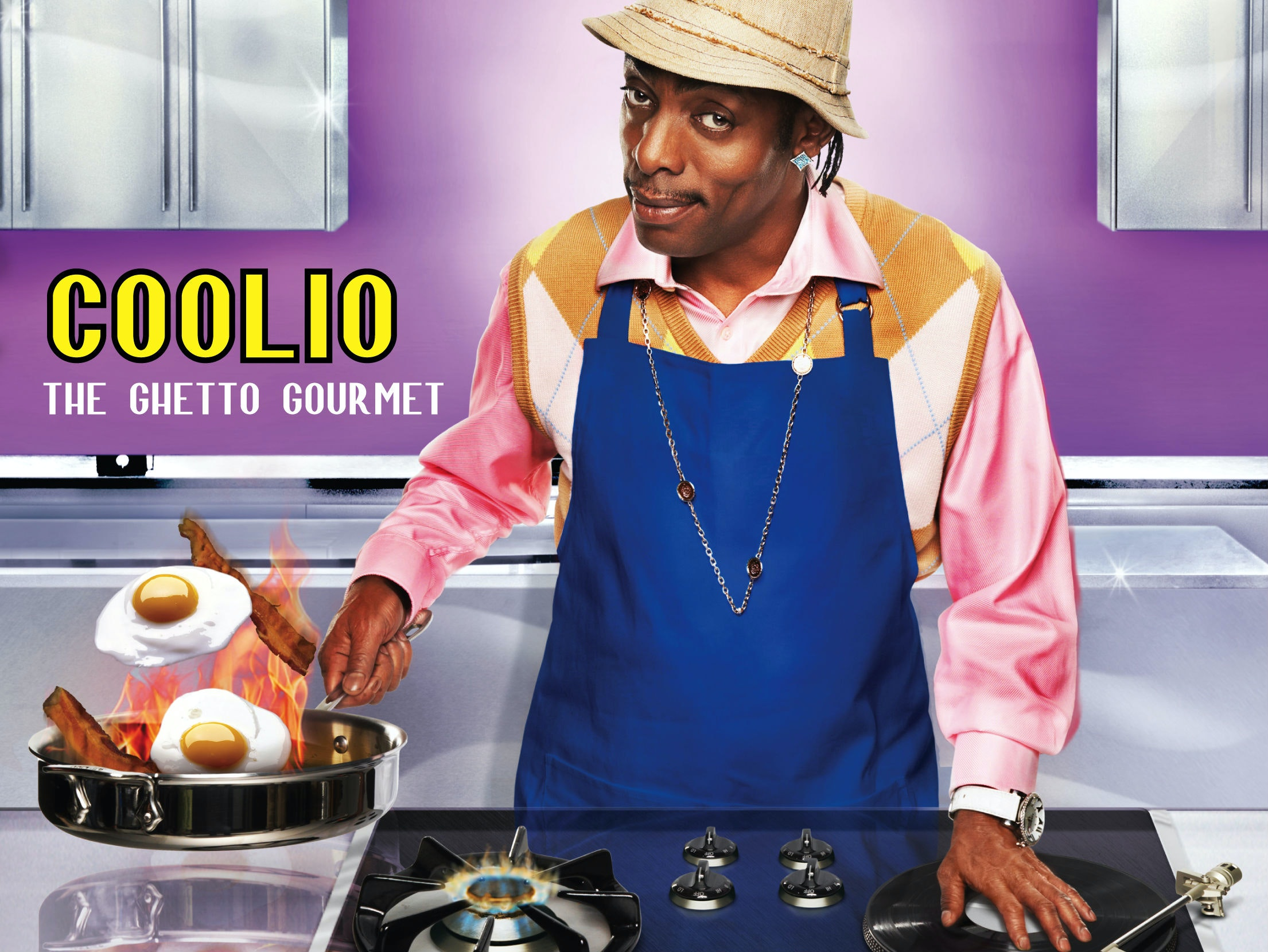 This cookbook that waswritten by Coolio
