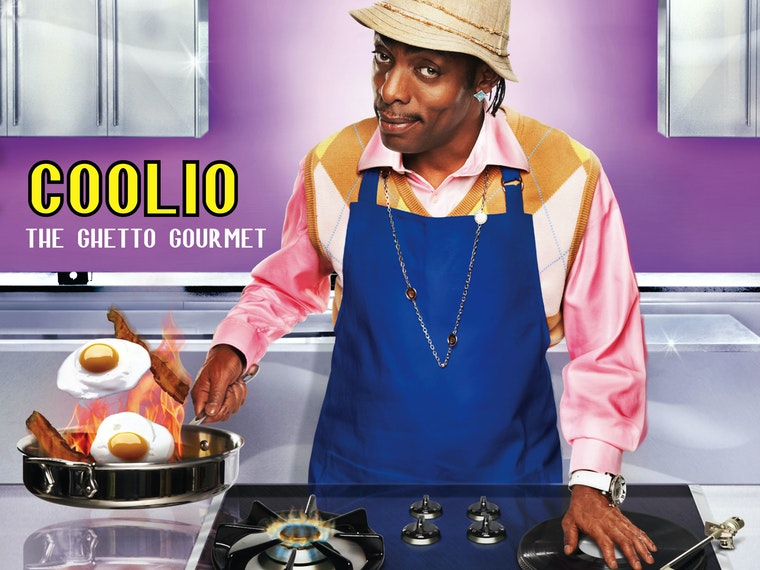 This cookbook that was written by Coolio
