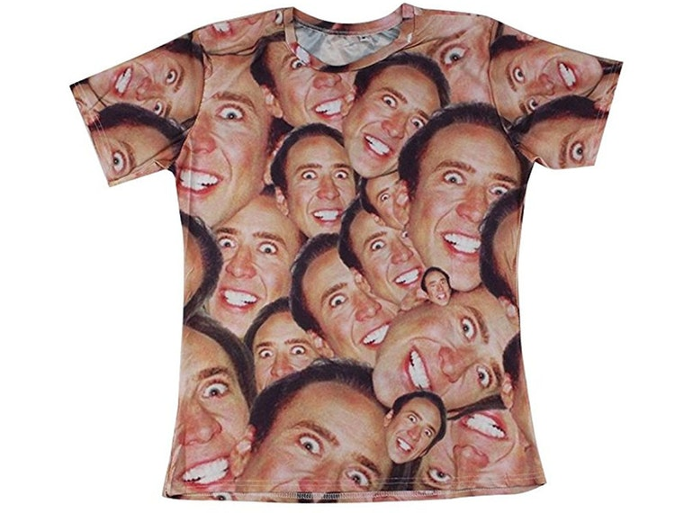 This ultimate shirt for Nic Cage fans