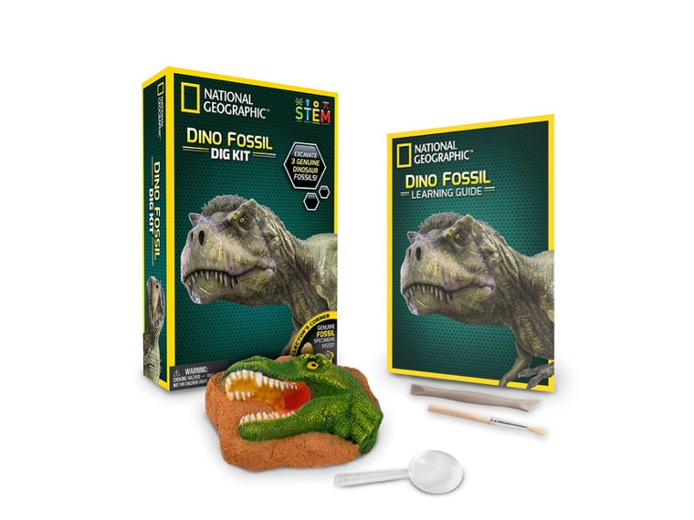 This National Geographic fossil kit that includes prehistoric poop 💩