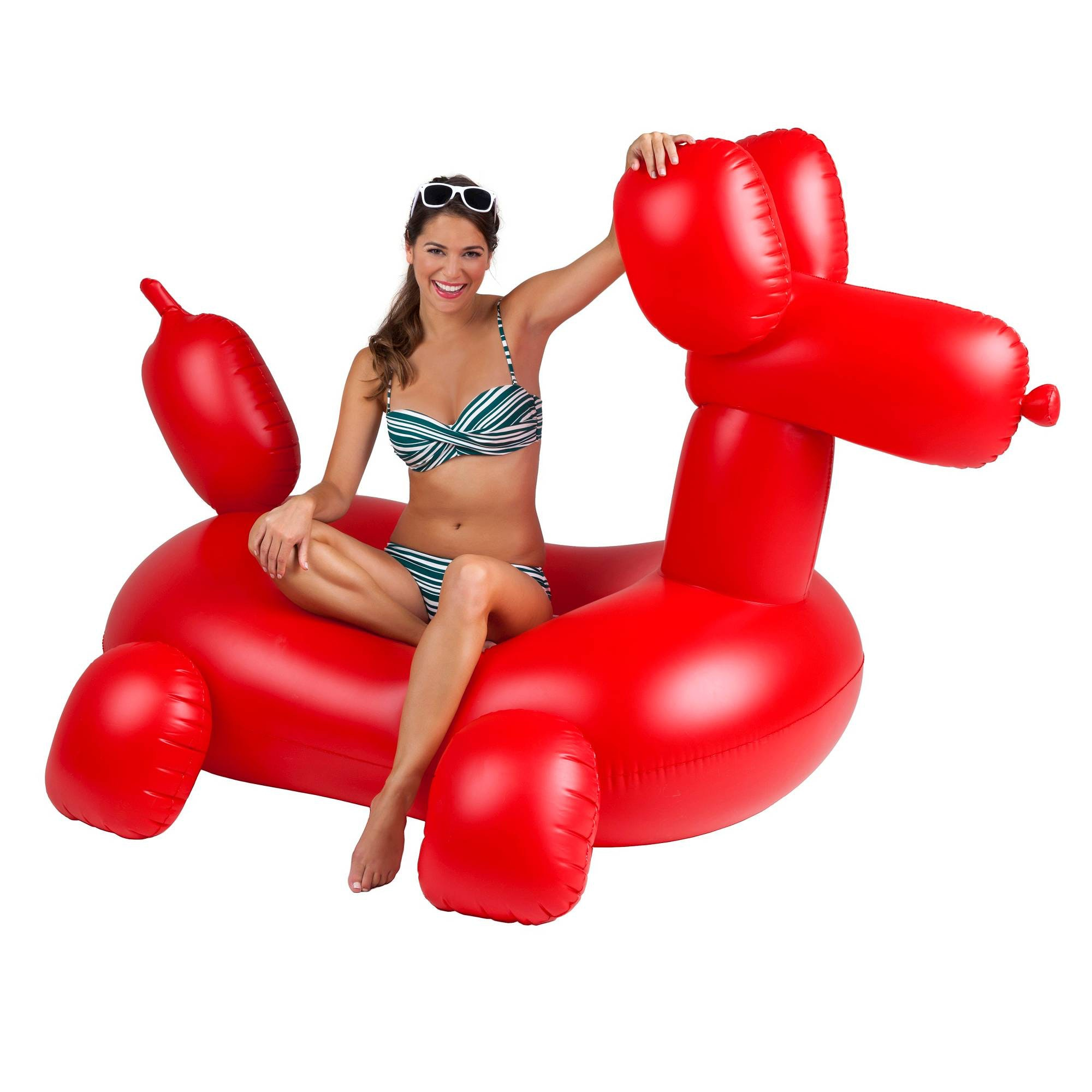 The most awesome balloon animal you'll ever ride