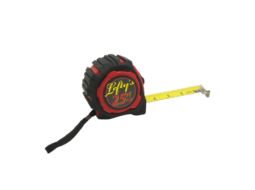 This left-handed measuring tape