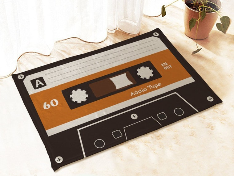 Add some personality with a unique doormat