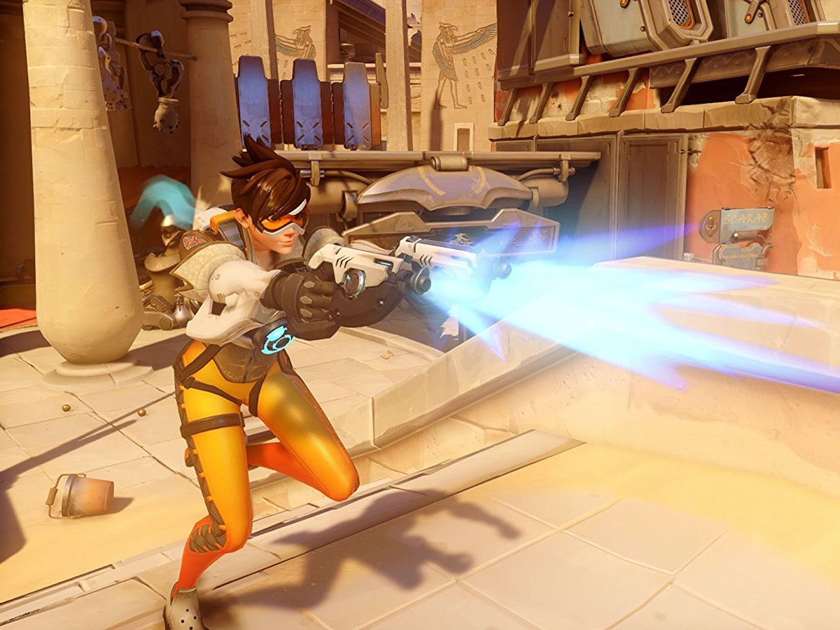 Blizzard's multi-player team shooter hit Overwatch