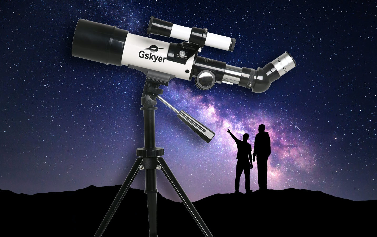 This powerful telescope that lets you dream of life on another planet