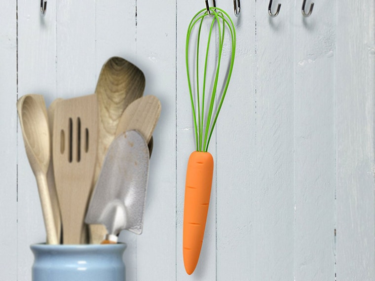 Thisfanciful whisk for making the most delicious carrot cake