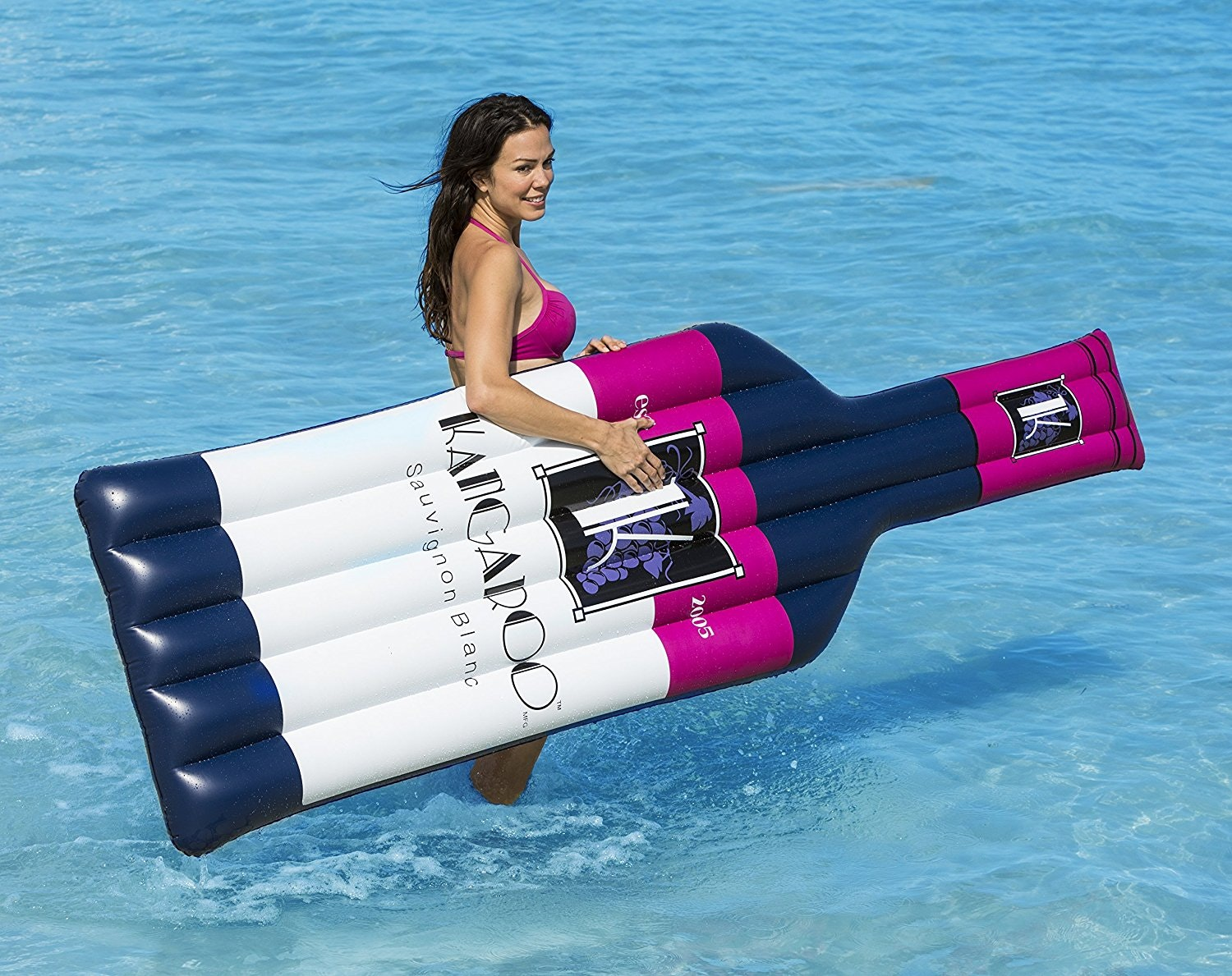 The perfect pool float for wine o'clock