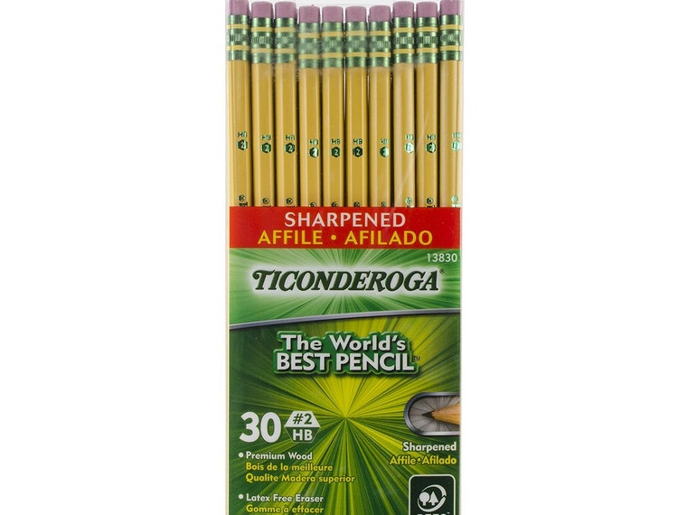 The best #2 pencils for all those standardized tests