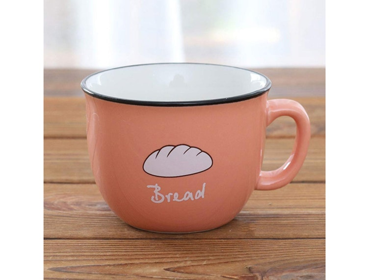 Thismug that pays homage to toasty treats 🍞