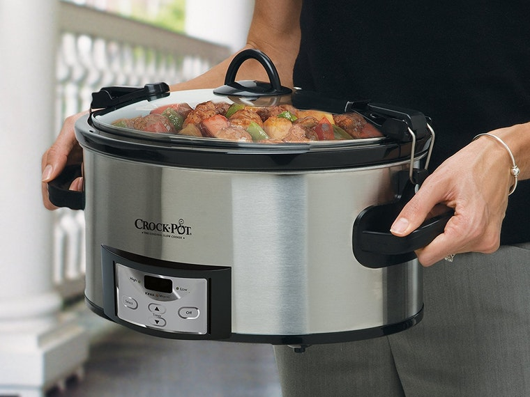 A crock pot for the laziest of chefs