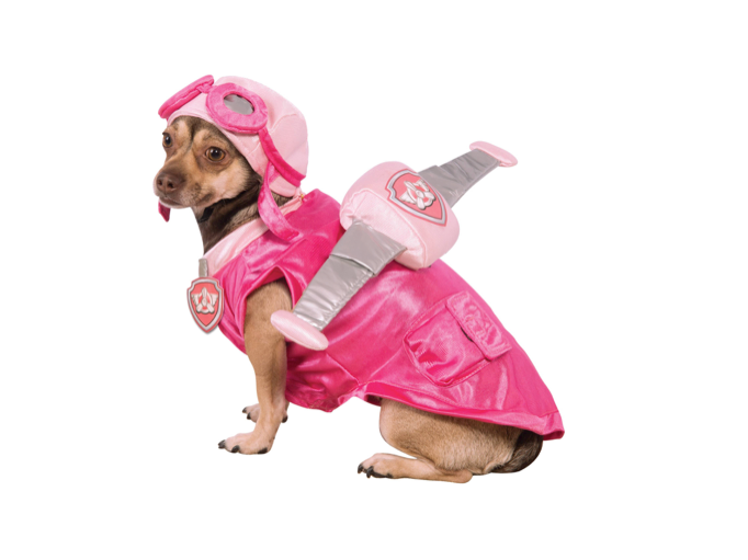 This Paw Patrol costume for furry pilots