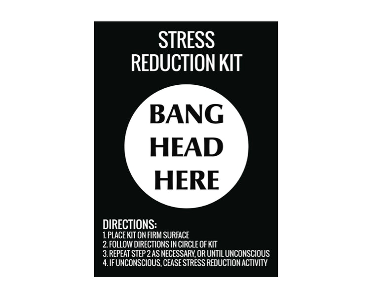 This stress relieving kit of questionable efficacy