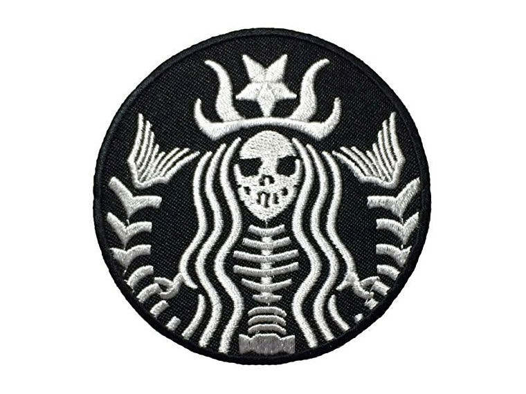 This patch that combines your love for the undead and coffee