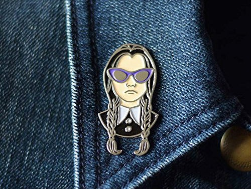 This amazing pin of Wednesday Addams