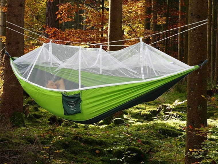 This genius, bug-free hammock that's perfect for camping