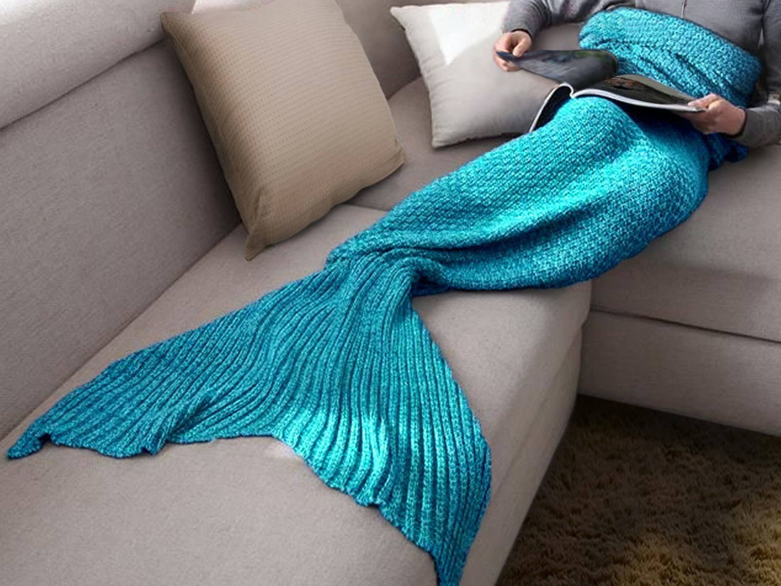This blanket that lets you live out your Disney princess fantasies