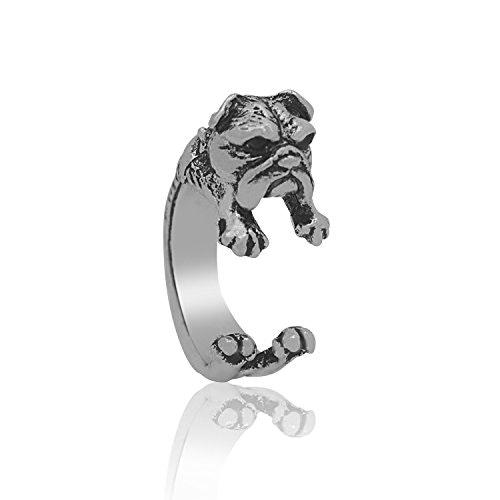 Thisadjustable bulldog ring