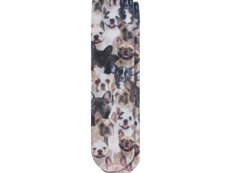 These bulldog socks for keeping your toes warm