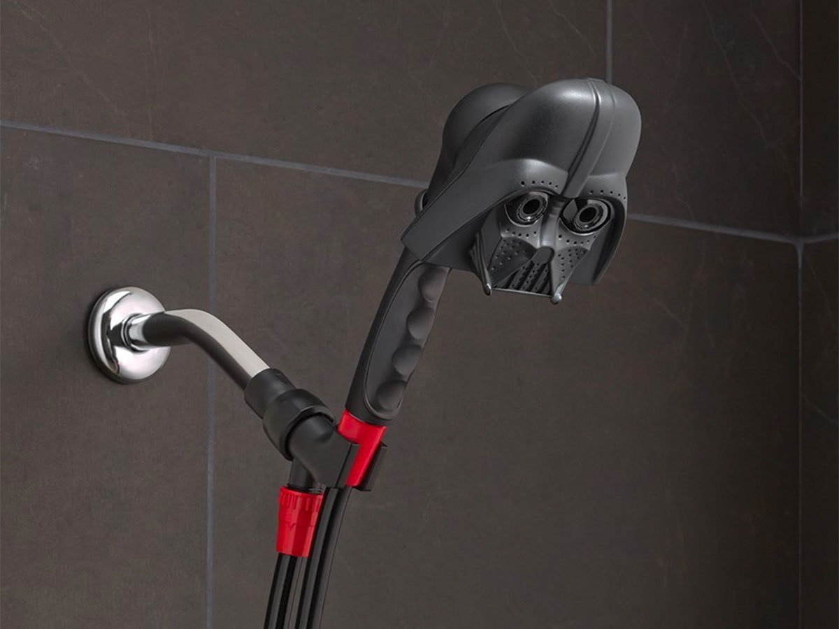 This Darth Vader showerhead that's creepy AF