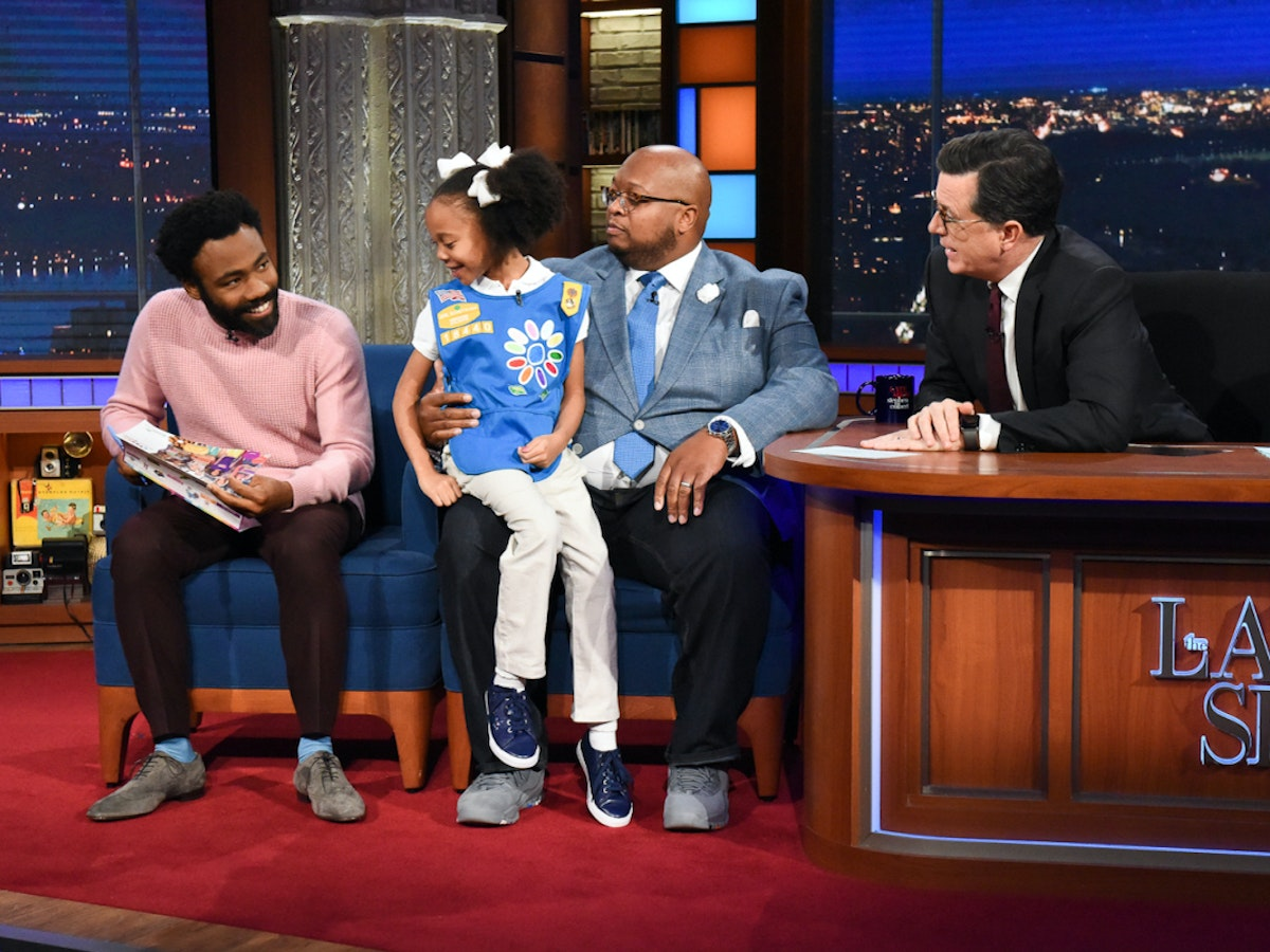 Donald Glover Buys $500 of Girl Scout Cookies and It's Just the Cutest