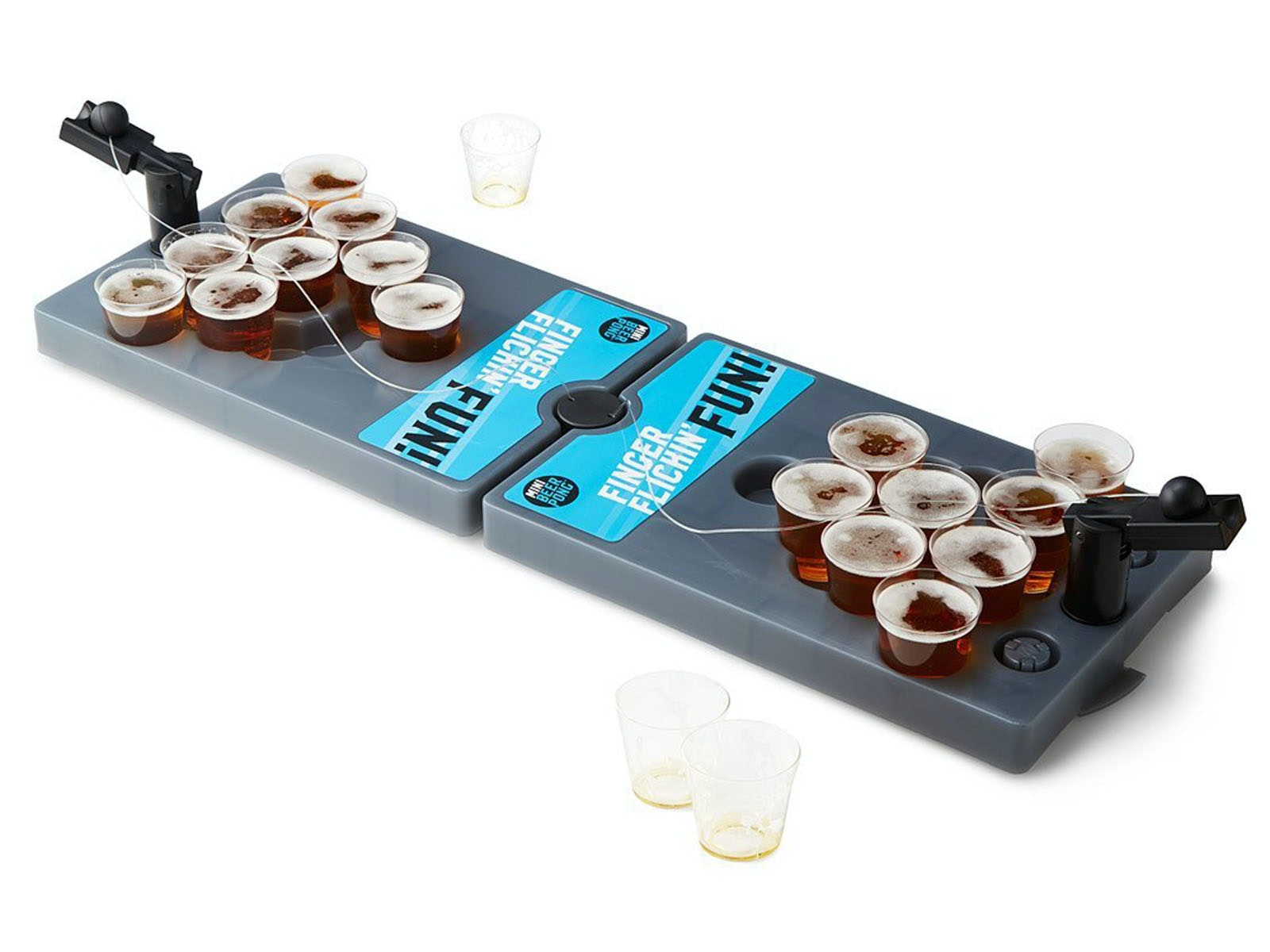 This tiny-yet-portable beer pong set for when you only want a couple sips