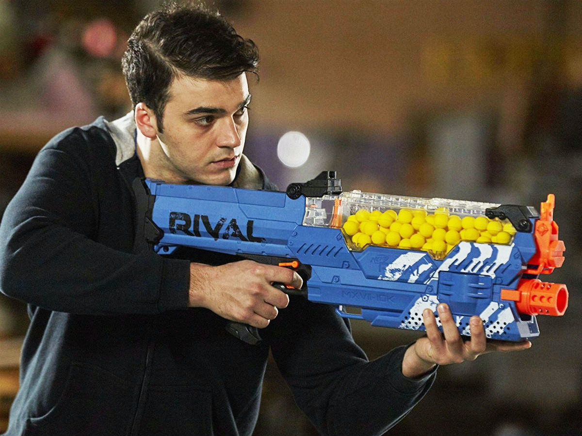 This one Nerf gun to rule them all