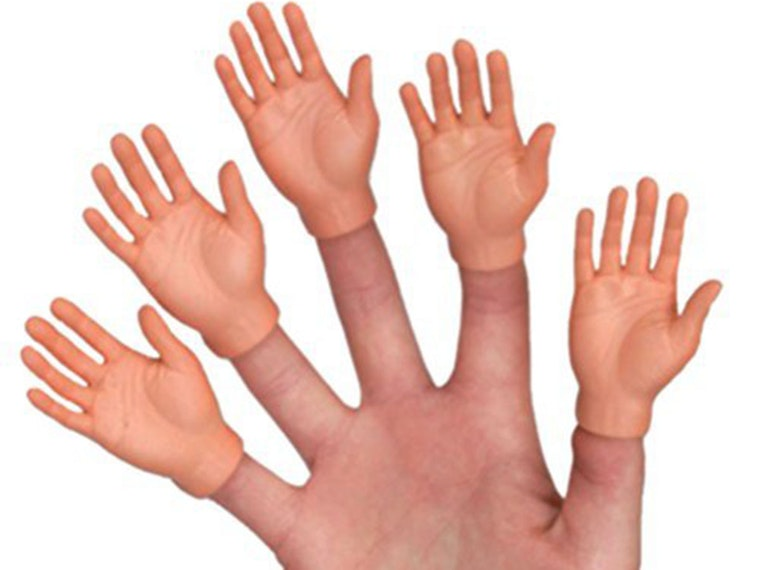 Ten of the creepiest finger puppets ever made