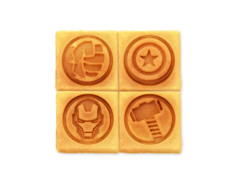 This Avengers waffle iron