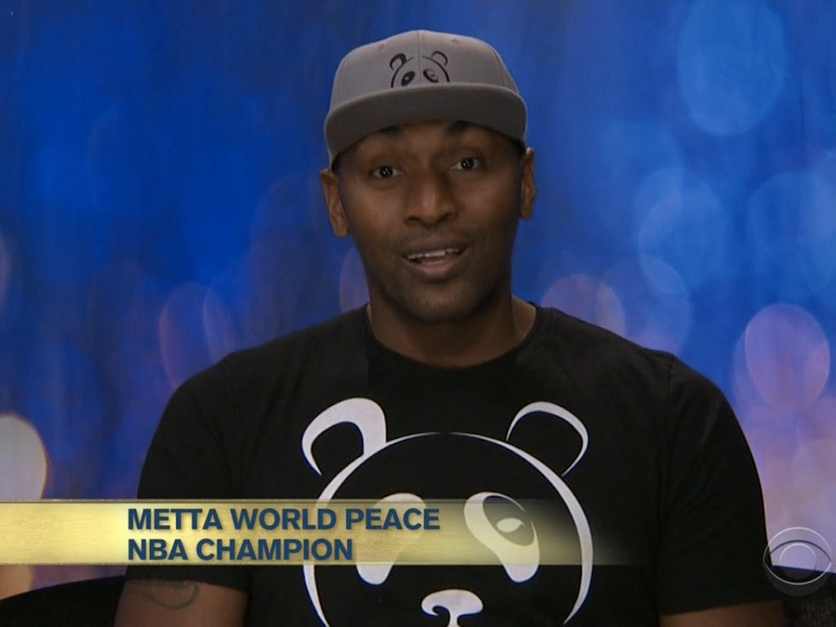 Metta World Peace Is the Best Part of Celebrity Big Brother