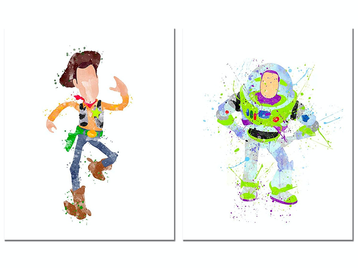 These prints that take you all the way back to Andy's childhood