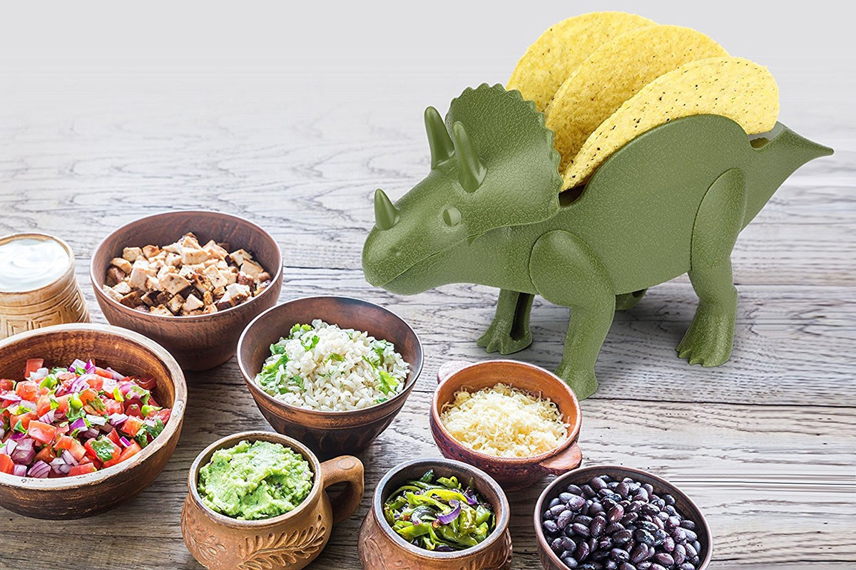 This most rad taco holder you'll ever own