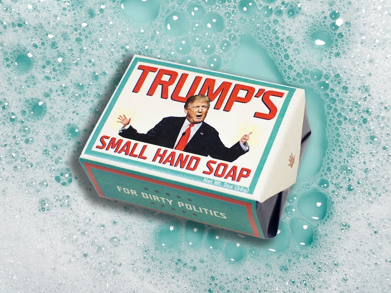 This tiny, itty-bitty soap for tiny, itty-bitty hands