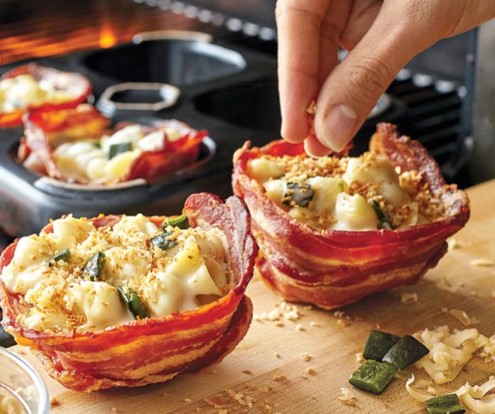 Ceramic bacon bowls for... making bacon bowls🥓