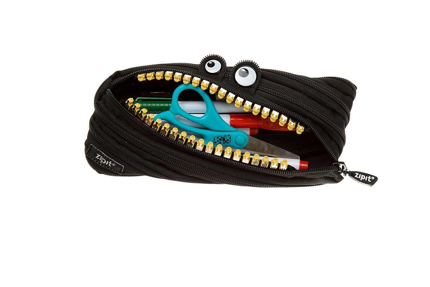 This funky pencil case that smiles at you