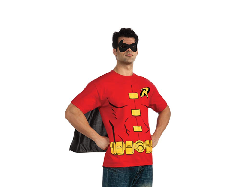This shirt that transforms you into Batman's buddy