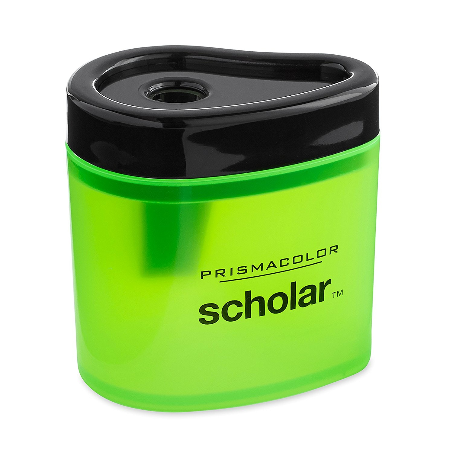 This compact pencil sharpener