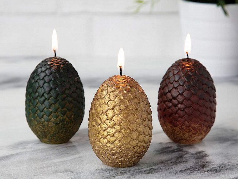 Dragon-egg candles for your own Daenerys Targaryen
