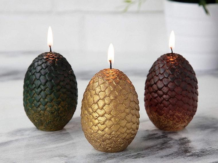 Dragon-egg candles for your ownDaenerys Targaryen