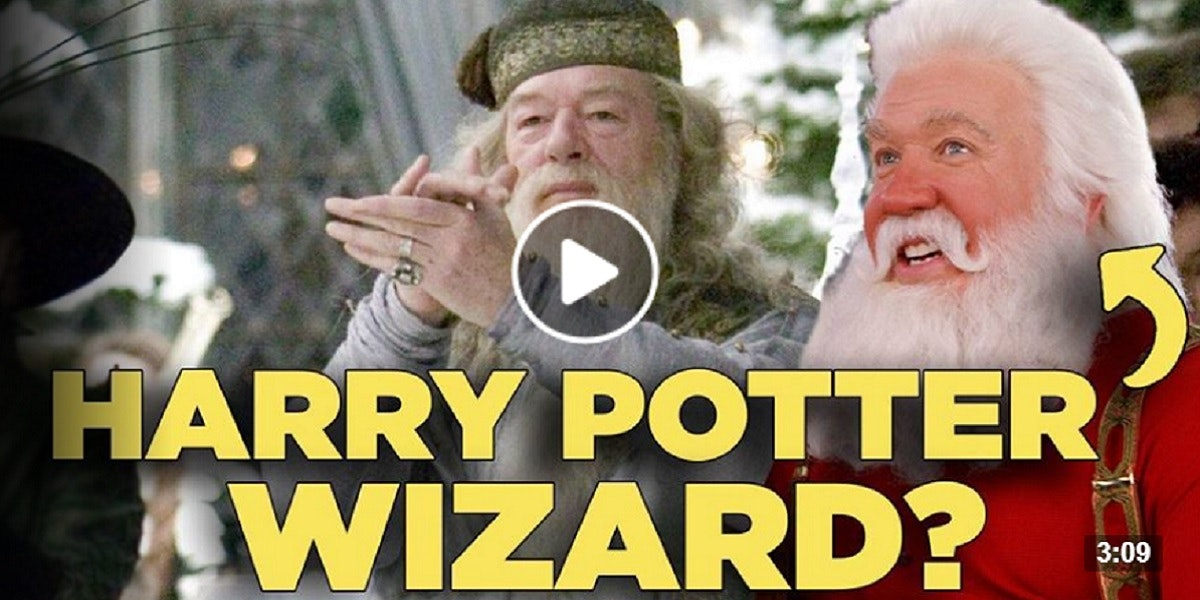 Harry Potter Fan Theory: Santa is a Wizard! 🎅⚡