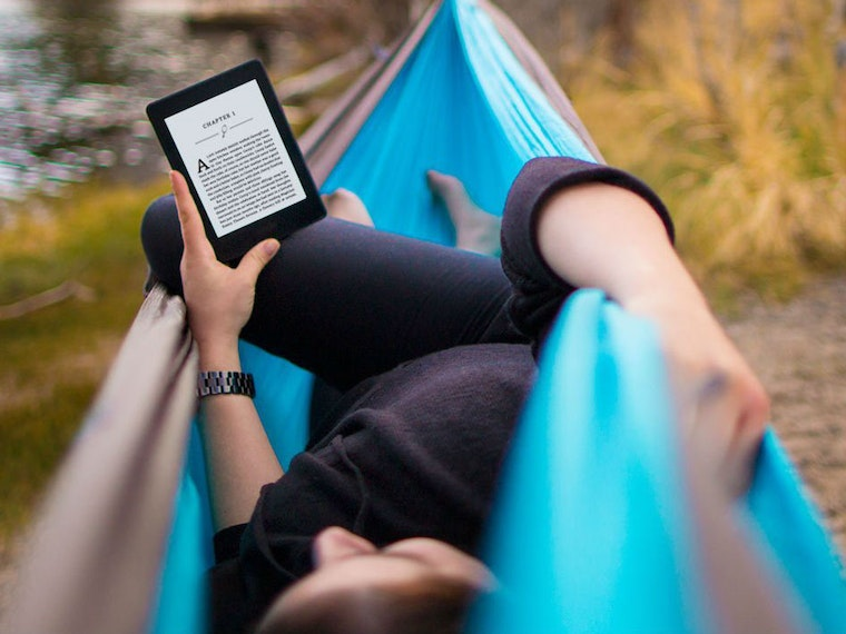 This improved, easier-to-read Kindle for heavy readers