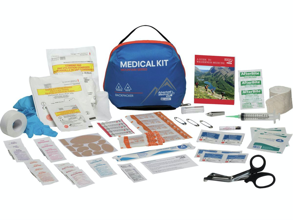 This pack of pretty much everything you need in a medical emergency
