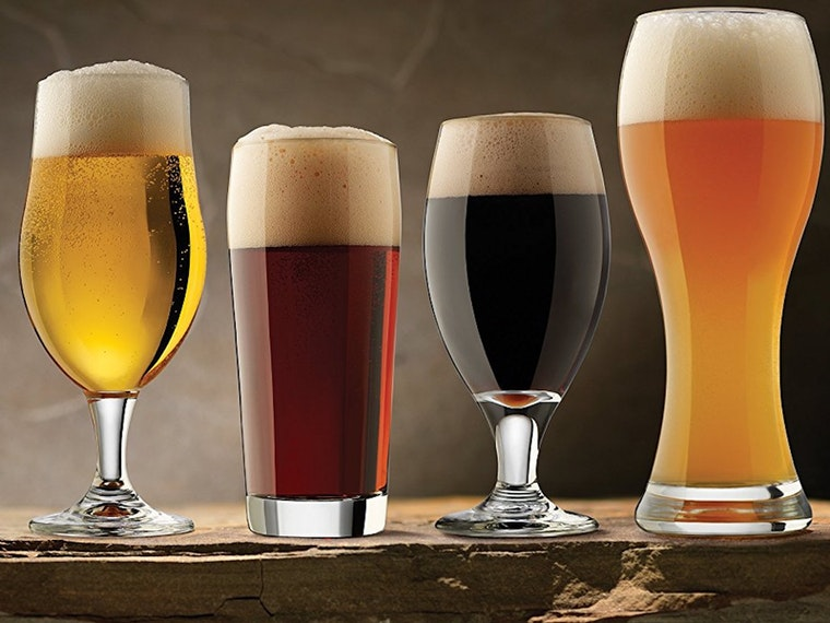 This set of every beer glass you'll need