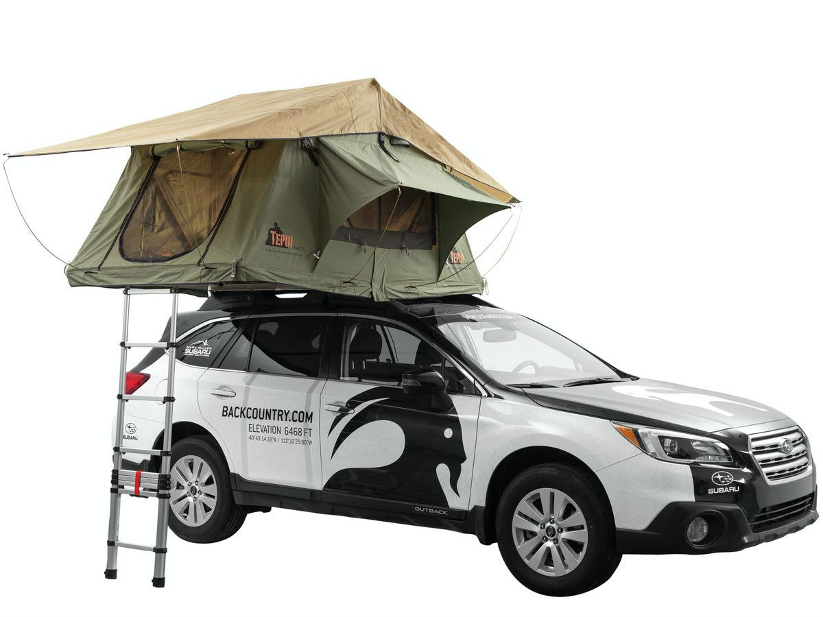 This truly bizarre tent for sleeping on top of your car
