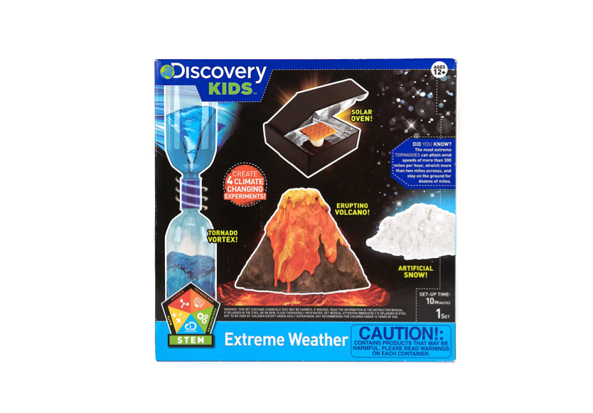Thisscience kit for kids that love crazy weather🌪️🌋🌨️